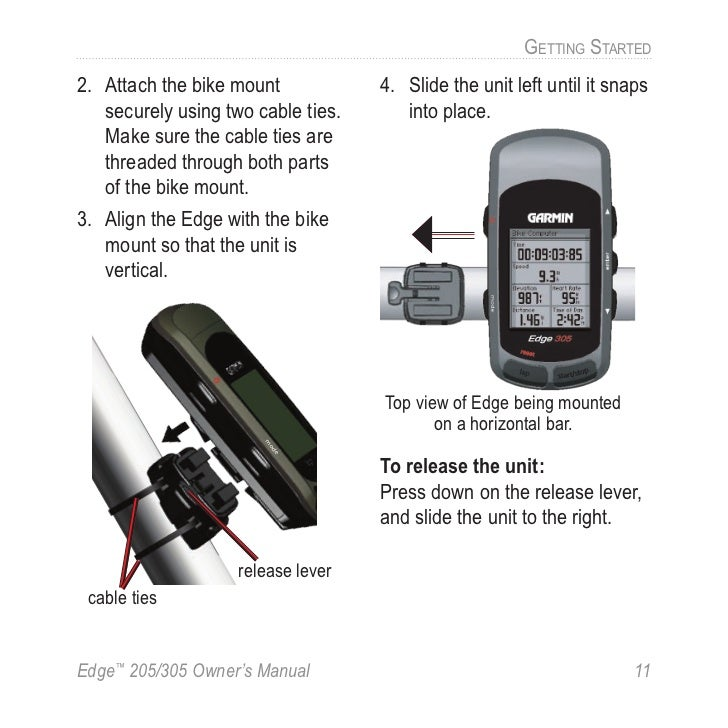 garmin edge 305 manual rh slideshare net Garmin Edge 305 Bike Mount Garmin Edge 305 Bike Mount